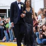 Juniors Paul Worsley and Rachel Ruiz.