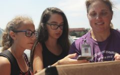 Students View Eclipse