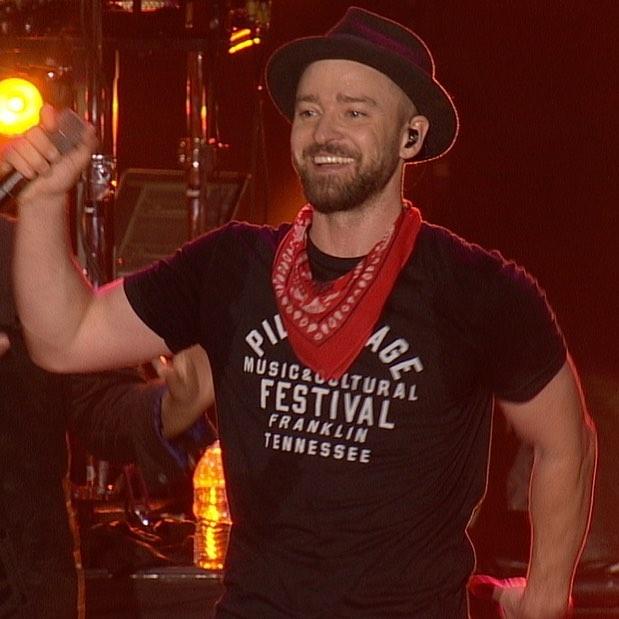 Justin Timberlake at the 2017 Pilgrimage Music & Cultural Festival.