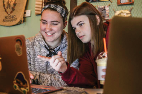 Four student publications staffers place in KSPA's state digital contest