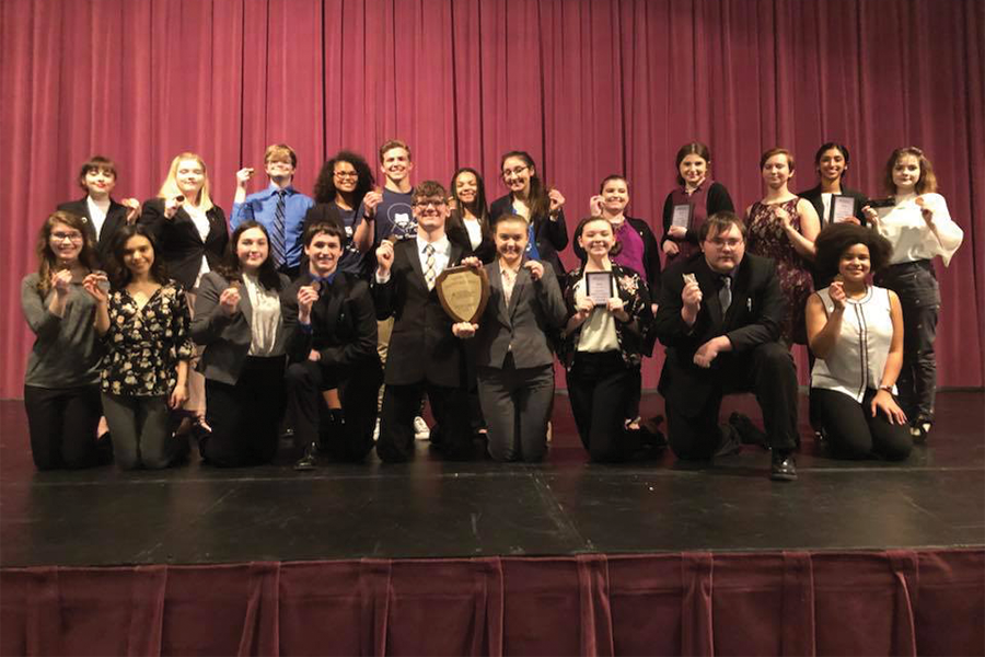 The+PHS+Debate+and+Forensics+team+will+be+taking+14+students+to+the+National+Speech+and+Debate+Tournament%2C+the+most+in+school+history.+