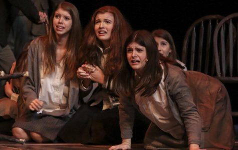 Theater department performs 'The Crucible'