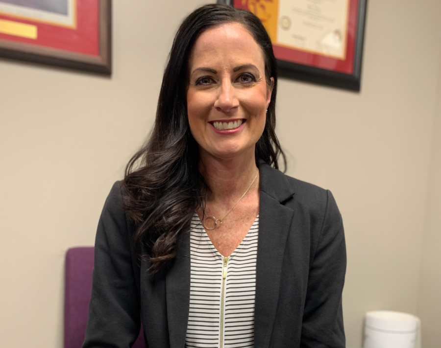 Assistant principal Kelynn Heardt will replace Phil Bressler as head principal of Pittsburg High School starting in July.