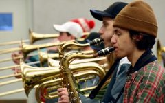 Gallery: PHS band prepares for Mid-America All Star Marching band parade