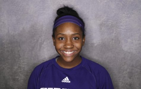 Q&A with freshman Alaycia Harris