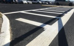 PHS repaves the parking lot, causes confusion