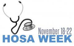 HOSA celebrates national HOSA week by hosting events