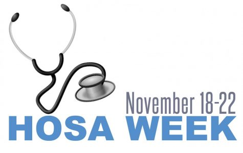 HOSA celebrates national HOSA week by hosting events