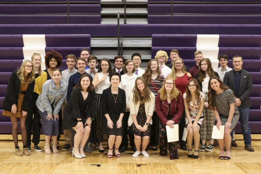 NHS+inducts+new+members