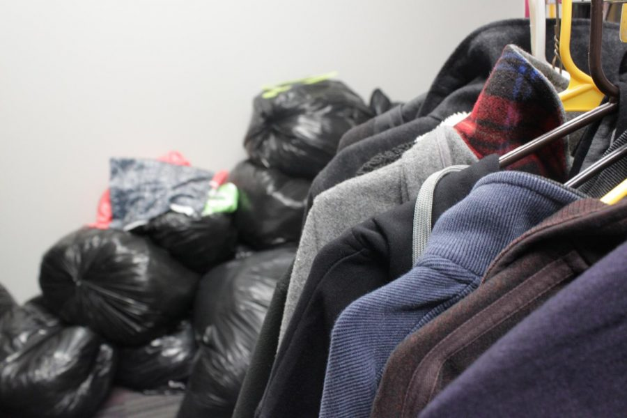 Above+is+a+photo+of+the+clothes+and+blankets+that+have+been+donated+to+the+Club+209A+donation+drive.+
