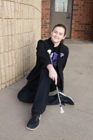 Freshman Ashleigh Henderson and her journey with twirling