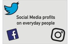 Social media profits on everyday people