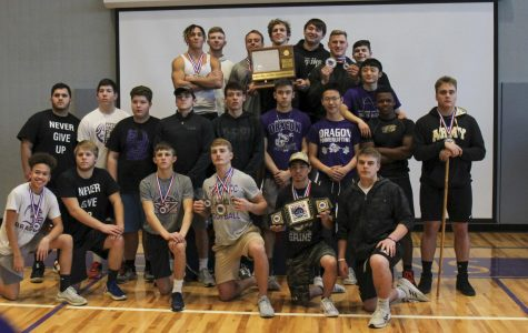 Powerlifters compete in 5A state meet