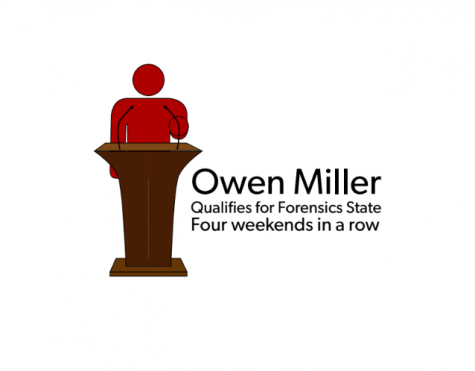 Qualifying for State: Sophomore Owen Miller goes to the next level in Forensics