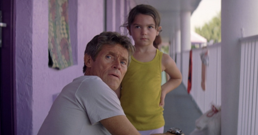 The photo above is from the A24 film The Florida Project, directed by  Sean Baker.