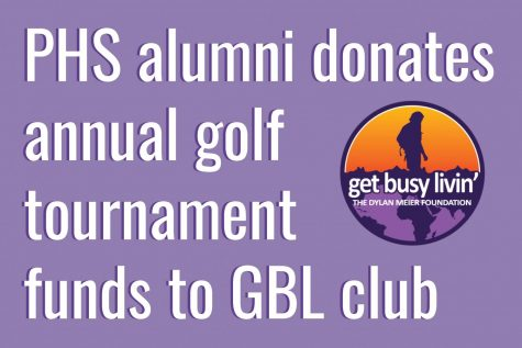 PHS alumni donates annual golf tournament funds to GBL club