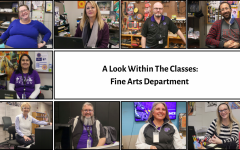 A Look Within the Class: Fine Arts Department