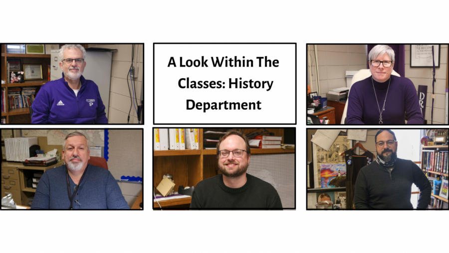 A Look Within the Class: History Department