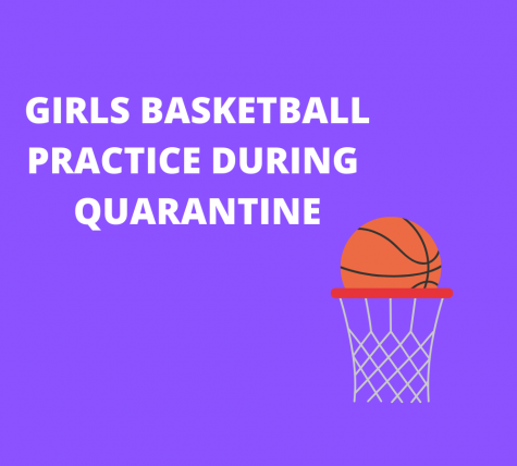 Girls basketball practices during quarantine