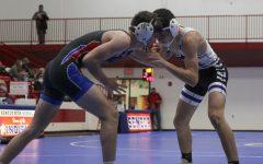Varsity wrestling in Seneca