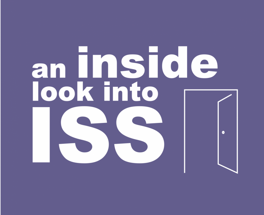 An inside look into ISS headline graphic and line art