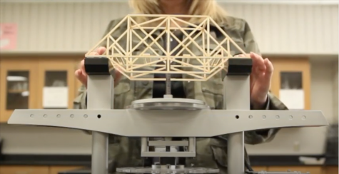 Physics classes to compete in regional bridge building contest