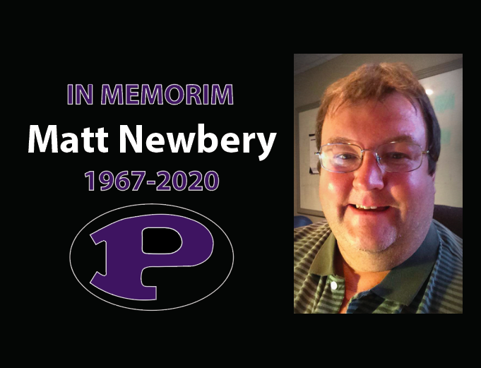 Matt Newberry was a 1985 graduate. He passed away Nov. 22 due to Covid-19. A scholarship has been established in his honor.