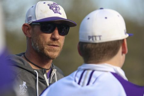 Keith Matlock is in his ninth year coaching baseball for the Dragons.