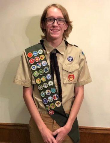 Steier Reaches Eagle Scout Ranking